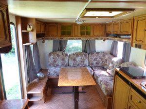Caravane du camping