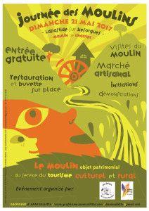 Journée Européenne des Moulins 2017 - Moulin de Charrier
